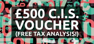 Special offer: claim a £500 CIS voucher for tax & accountancy help (SW8)