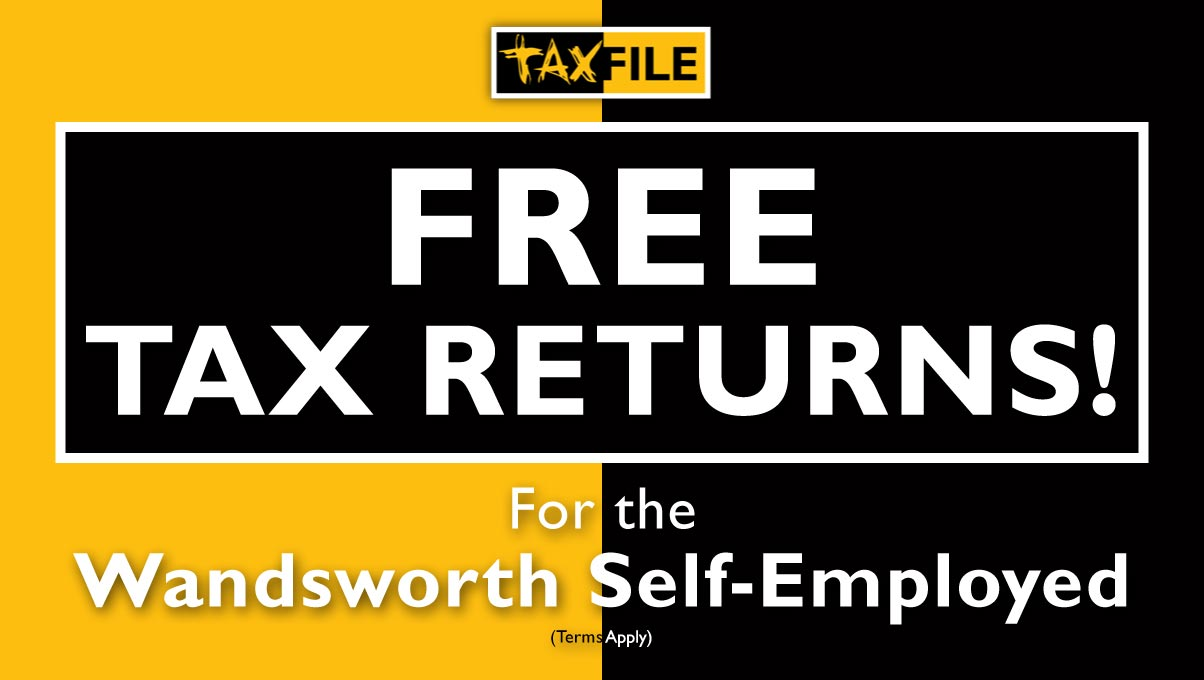 Free 2018/19 tax returns for the Wandsworth Self-Employed